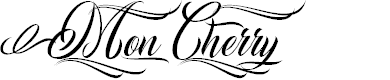 Preview image for Mon Cherry Personal Use  Font