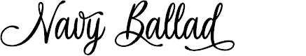 Preview image for Navy Ballad - Personal Use Font