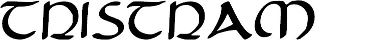 Preview image for Tristram Font