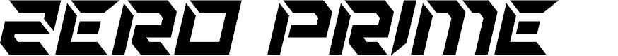 Preview image for Zero Prime Bold Italic
