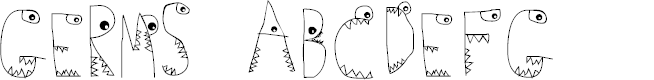Preview image for Germs Font