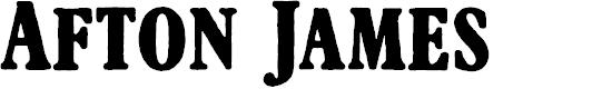 Preview image for AftonJames Font