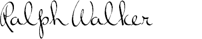 Preview image for RalphWalker Font