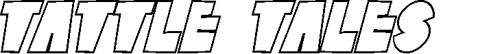 Preview image for SF Tattle Tales Outline Italic