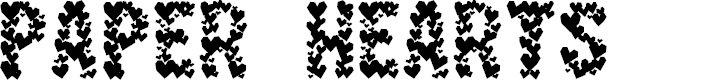 Preview image for Paper Hearts Font