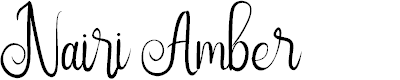 Preview image for Nairi Amber Font