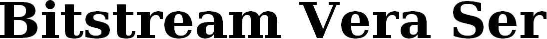 Preview image for Bitstream Vera Serif Bold