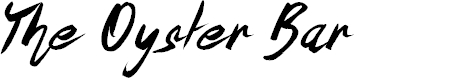 Preview image for The Oyster Bar Font