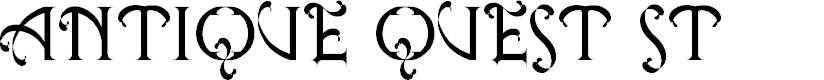 Preview image for Antique Quest St Font