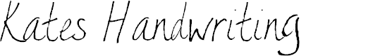 Preview image for AEZ Kate's Handwriting