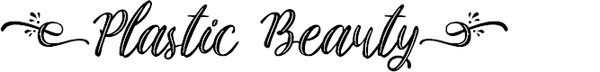 Preview image for Plastic Beauty Font