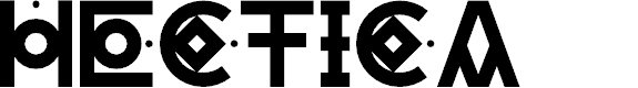 Preview image for HECTICA Font