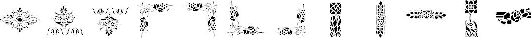Preview image for lpstencil3 Font
