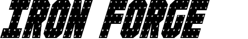 Preview image for Iron Forge Condensed Italic