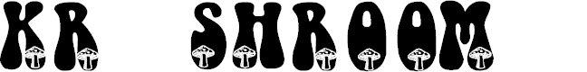 Preview image for KR Shroom Font