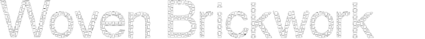 Preview image for Woven Brick outline