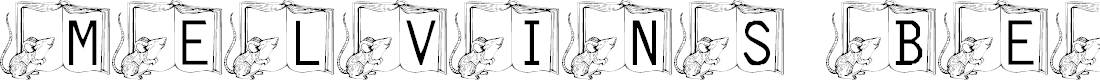 Preview image for 101! Melvin's Bedtime Story Font