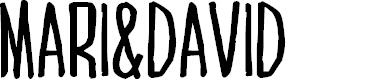 Preview image for MARI&DAVIDRegular
