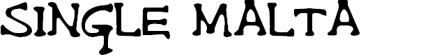 Preview image for Single Malta Font