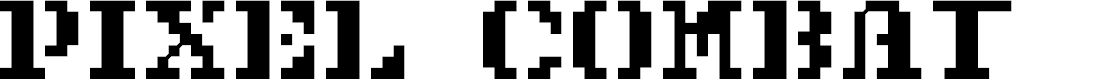 Preview image for Pixel Combat Font