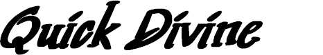 Preview image for Quick Divine Font