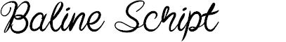 Preview image for Baline Script
