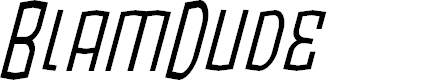 Preview image for BlamDude BB Italic