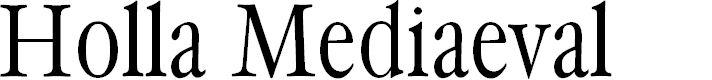 Preview image for HollaMediaeval Font