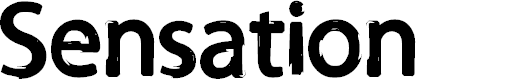 Preview image for Sensation Font