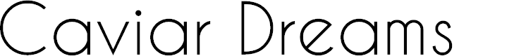Preview image for Caviar Dreams Font