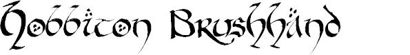 Preview image for Hobbiton BrushhandHobbiton brush Font