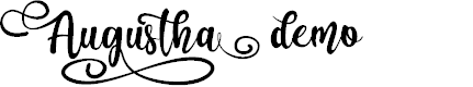 Preview image for Augustha demo Font