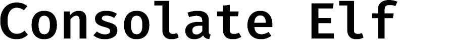 Preview image for Consolate Elf Font