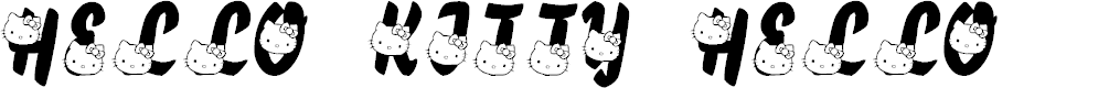 Preview image for LMS Hello Kitty Hello Font
