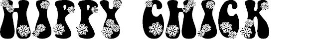 Preview image for LMS Hippy Chick Font