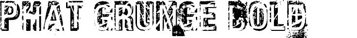 Preview image for Phat Grunge Bold Font