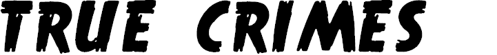 Preview image for True Crimes Font