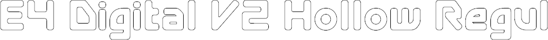 Preview image for E4 Digital V2 Hollow Regular