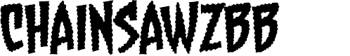 Preview image for ChainsawzBB Font