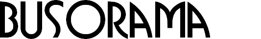 Preview image for Busorama Font