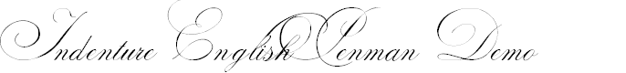 Preview image for Indenture English Penman Demo