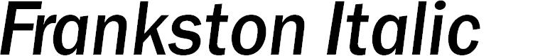 Preview image for Frankston Italic