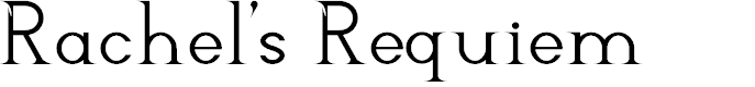 Preview image for Rachel's Requiem