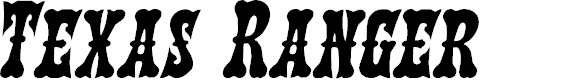 Preview image for Texas Ranger Italic