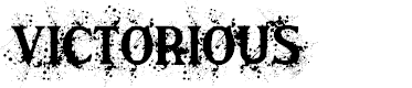 Preview image for Victorious Font