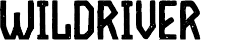 Preview image for WildRiver Font