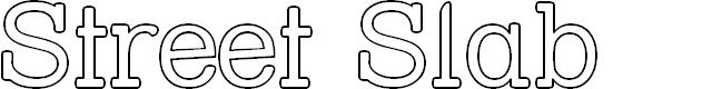 Preview image for Street Slab - Outline