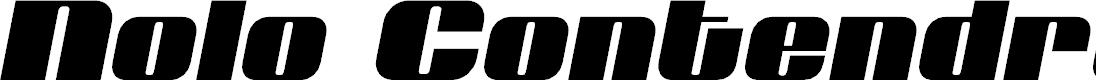 Preview image for Nolo Contendre Semi-Italic