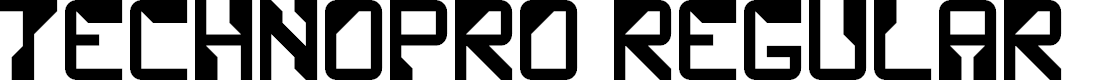 Preview image for TechnoPro Regular