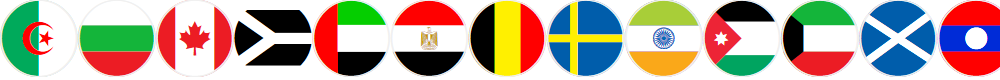 Preview image for flags world color Font